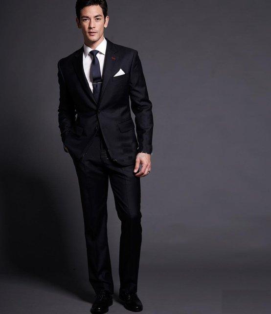 2013 best sale men suit /men suits/ mens complete designer tuxedo ...