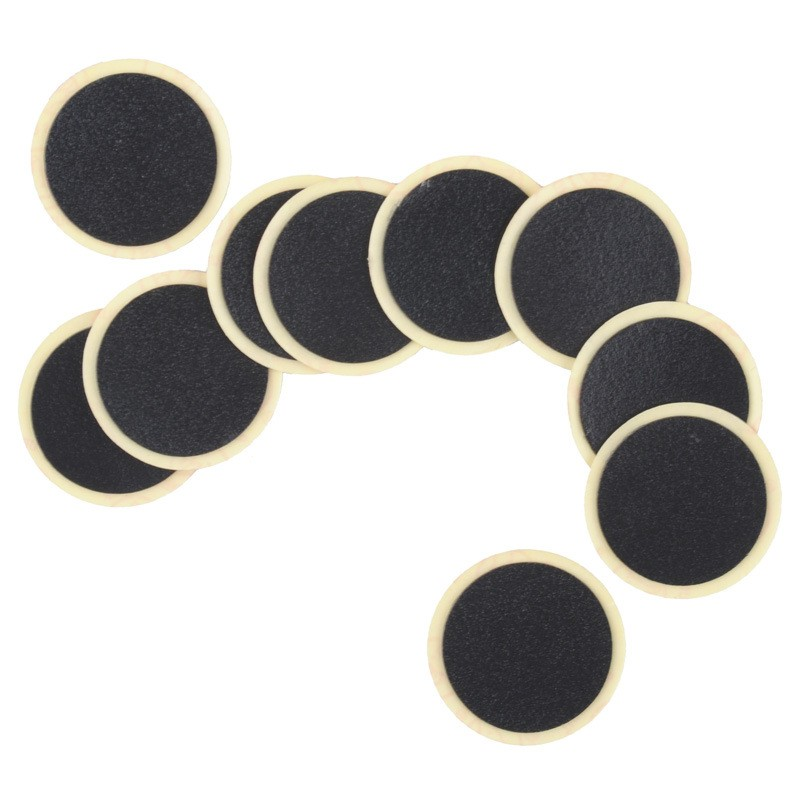 10pcs Self Adhesive Glueless Bike Patch Puncture Tyre Tire Tube Repair Kit/_UF