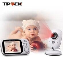 3.2 インチベビーモニターワイヤレスビデオカラー赤ちゃんの乳母防犯カメラ馬場電子ナイトビジョン温度監視 VB603