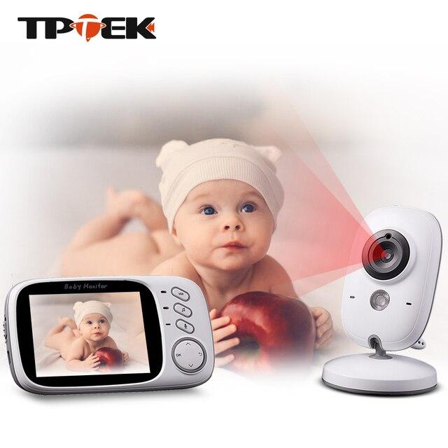 3.2 pouces bébé moniteur sans fil vidéo couleur bébé nounou caméra de sécurité Baba électronique Vision nocturne surveillance de la température VB603