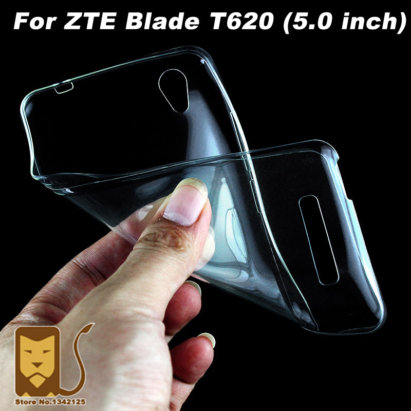 ZTE Blade T620 Case Cover 5.0 inch Ultrathin Transparent TPU Soft Cover Phone Case For ZTE Blade T620 T 620 Back Cover Case
