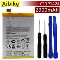 Aibike New Original Mobile Phone Battery C11P1424 For ASUS Zenfone 2 ZE550 ML Z008D ZE550ML ZE551ML
