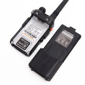 Image 4 - BAOFENG UV 5RE 8W powerful Walkie Talkie 3800mAh 10km long range uhf vhf Band portable cb ham radio Upgrade of UV5RE for hiking