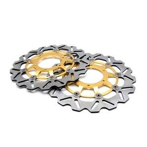 Image 2 - CNC мотоцикл передний ротор плавающего тормозного диска и задний тормозной диск ротора для Honda CBR600 cbr 600 2007 2013 CBR600RR 2003 2014