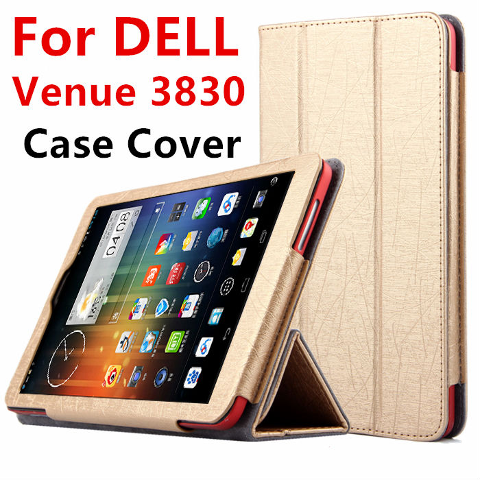 Case For DELL Venue 8 3830 Android Protective Smart cover Leather Tablet For dell venue 8 V8-BK16R  8 inch PU Protector Sleeve bluetooth keyboard case for dell venue 8 3830 8 inch tablet pc dell venue 8 3830 bluetooth keyboard case free 2 gifts