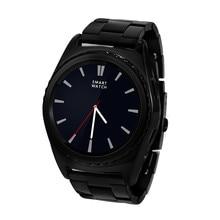 Neue G4 Smart Uhr Bluethooth Unterstützung Sim TF Karte Herzfrequenz Gesundheit Tracker Smartwatch für IOS Leder Band Edelstahl Kette