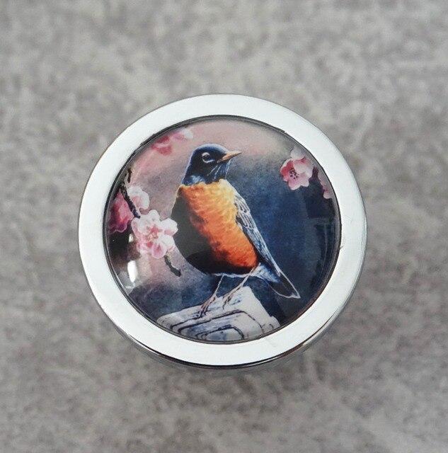 Blume Vögel Knöpfe Vintage Schublade Kommode Knöpfe Handgemachte ...
