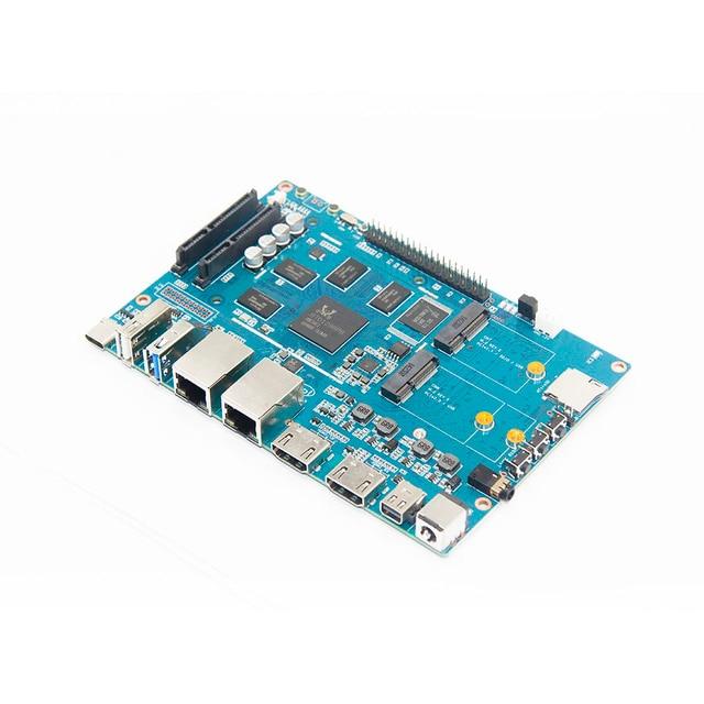 בננה pi BPI W2 חכם נתב עם Realtec RTD1296 עיצוב, מתאים לבית בידור, בית אוטומציה, משחק מרכז