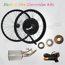 QS Motor 205 Electric bicycle kit / E bike kit / spoke hub Motor 3000W Powerful Hub Motor Kit bafang 48v500w powerful bpm hub motor electric bicycle rear hub motor