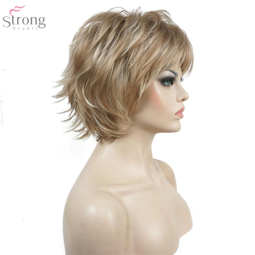 StrongBeauty Περούκα Γυναικών Μαύρο / - Συνθετικά μαλλιά - Φωτογραφία 5