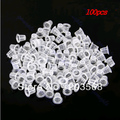 M65 100 pcs 9mm Small Tattoo Ink Cups Plastic Caps Supplies