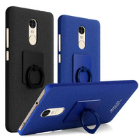 Redmi Note 4X Imak Cowboy Frosted Case Cover For Xiaomi Redmi Note 4X Finger Grip Ring