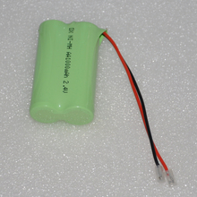 1-4PCS 2.4V AA rechargeable battery pack 1000mah 2A ni-mh ni
