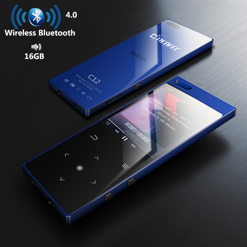 "Loudspeaker FM Recorder BA 1.8/"" TFT Bluetooth MP3 Player 16GB HiFi Radio"
