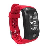 Impermeabile Wristband Heart Rate di Sonno Monitor GPS Multi Sport Orologio Intelligente Supporto Per IOS 8 +/Android4.3 + Sistema