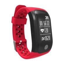 Водонепроницаемый браслет Heart Rate спальный Мониторы GPS Мульти Спорт Смарт часы Поддержка для iOS 8 +/Android4.3 + Системы