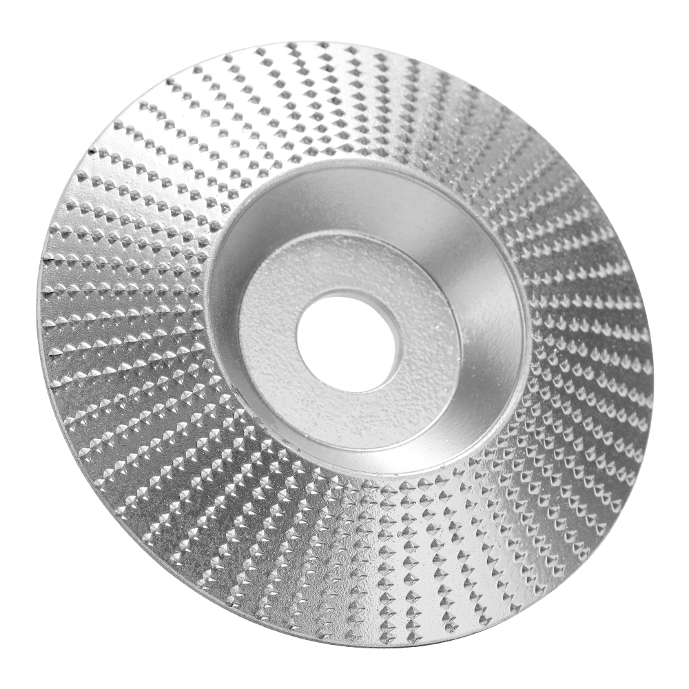 Woodworking Wood Angle Grinding Wheel Sanding Carving Rotary Tool Abrasive Disc For Angle Grinder Tungsten Carbide Coating Bore Shaping