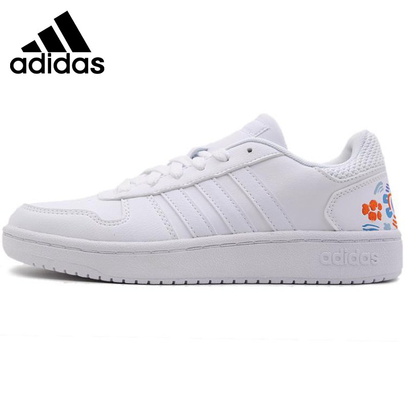 Original New Arrival 2019 Adidas HOOPS 2.0 women's Skateboarding Shoes