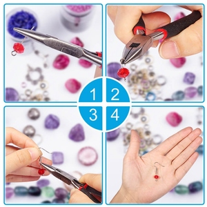 Image 3 - Jewelry Making Supplies Kit With Tools Wires And Jewelry Findings For Jewelry Repair And Beading