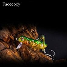 Facecozy Imitatie Locust Kunstmatige Aas Vissen Lokt 1Pc Drijvende Type Swimbait Crankbait Geschikt voor Vele Fingerlings
