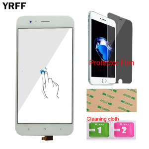 Image 4 - Touch Screen Panel For Xiaomi Mi A1 MiA1 MDG2 Touch Screen Digitizer Panel Front Glass 5.5 Mobile Protector Film Adhesive
