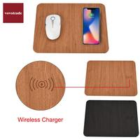 Qi Stand Wireless Charger Charging Pad For IPhone 8 8 Plus X With Mouse Mat For