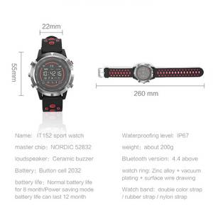 Image 5 - Nashone Mens Watches Waterproof Smart Watch Passometer Call Reminder Multi Function Stainless Steel Sports Watch Digital Clock