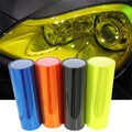 2.73$/m 30cmx100cm Car-Styling car headlights taillights lights tint protective vinyl film stickers changing color free shipping