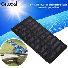 Solar Panel Durable Photovoltaic Panels 1.2W Sun Power Battery Charger Solar Cells Board