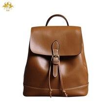 Мы больше Пояса из натуральной кожи рюкзак роскошные Рюкзак Для женщин Сумки дизайнер Bolsa feminina sac основные BOLSOS для подростков Обувь для девочек школьная сумка