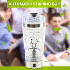 600ML New Electric Protein Shaker Blender Water Bottle Automatic Movement Vortex Tornado 600 ML Free Detachable Smart Mixer Cup