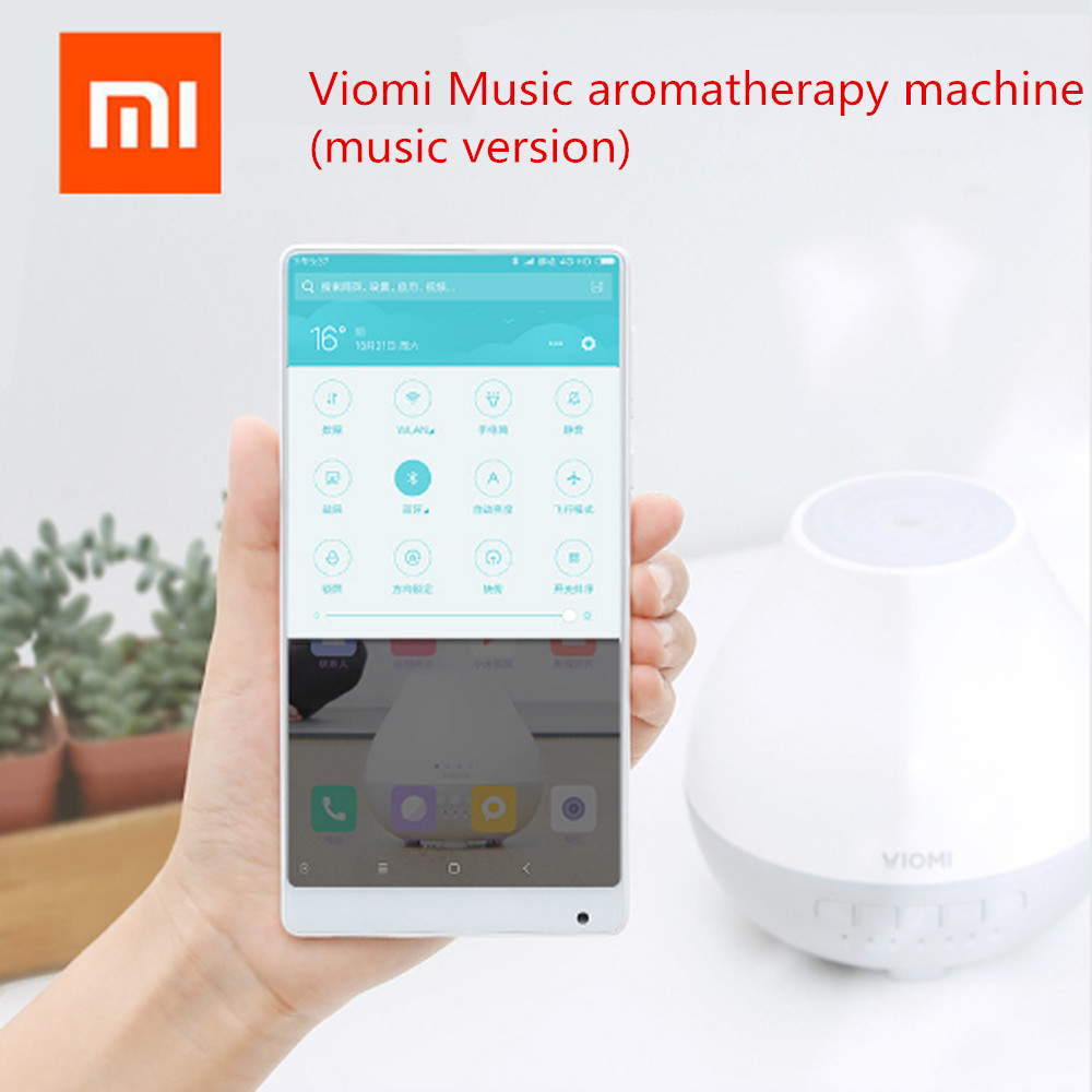 New Xiaomi Viomi Humidifier Air Aromatherapy Diffuser 4 Color Lights Warm Mist 200ML Automatic Portable Timed Bluetooth 4.0 APP цена и фото