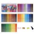 120/160 olio di matite colorate set di Sicurezza Non tossico in legno Artista pittura a Pastello matita colori per il Disegno Manga Sketch Art forniture