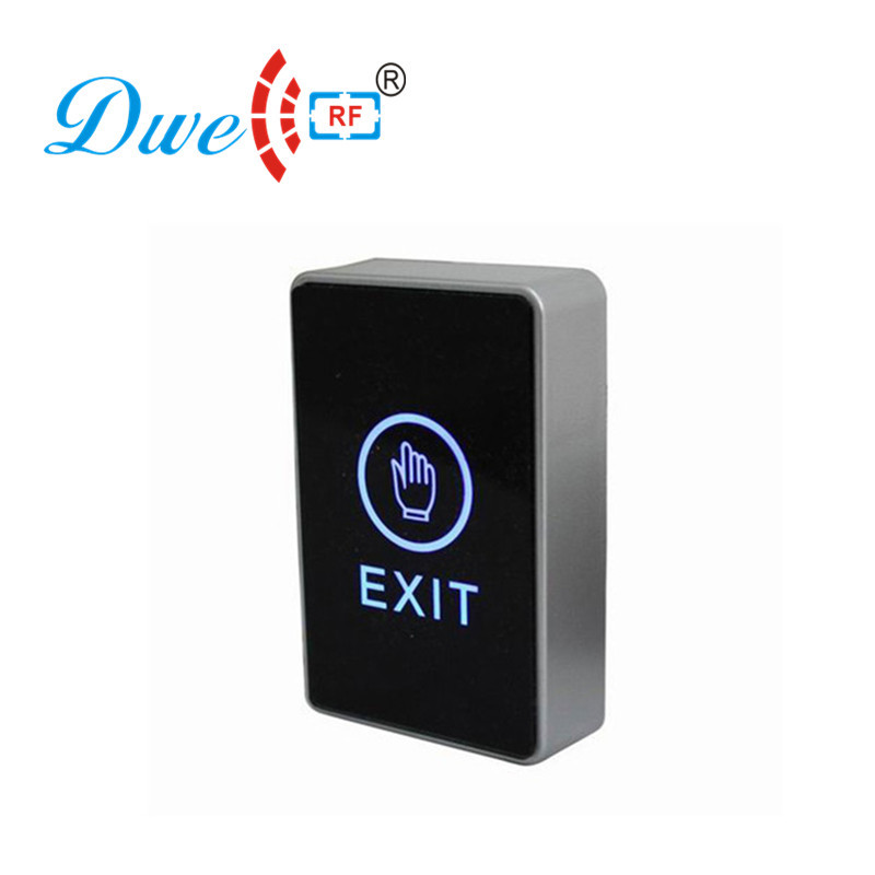 DWE CC RF Home security door release luminous touch screen push button for access control