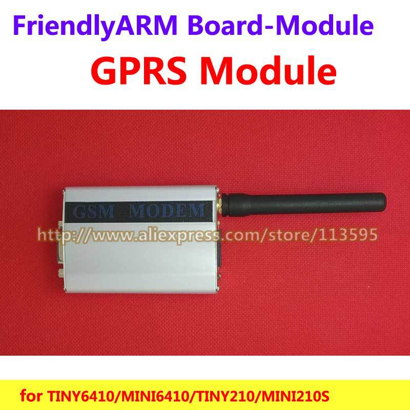 FriendlyARM GPRS / GSM Module ,RS232 serial interface ,  for TINY6410 mini6410 tiny210 tiny4412 Super4412, for Development Board smallest sim800l quad band network mini gprs gsm breakout module