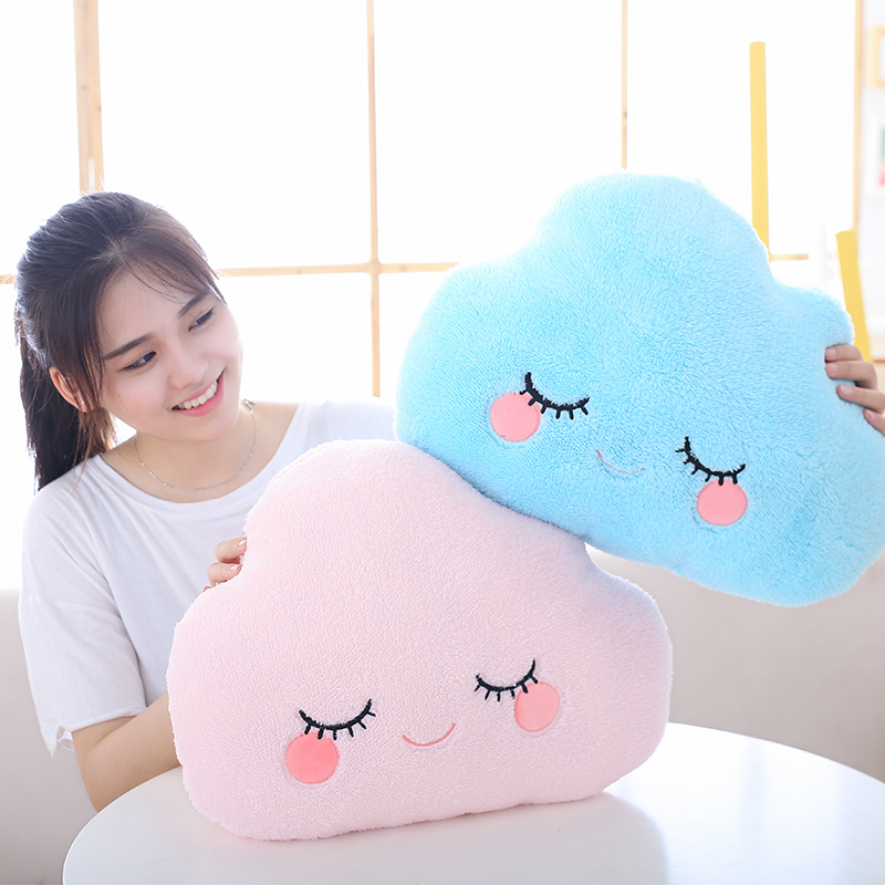 45*30cm Lovely Cute Super Soft Cloud Cushion Pillow Plush Toy For Sofa/ Bed/ Chair/Bedroom/ Home Decoration/valentine Gift
