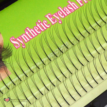 Handmake 3 trays 102 D Lash Natural Long Black Individual False Eyelashes Eye Lash Extension Kit 12mm 10mm 8mm lash eye