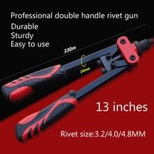 High quality heavy duty industrial blind Rivet Guns Manual Riveter Double Handles Nail Gun Hand Riveter Screw Gun Rivet Gun