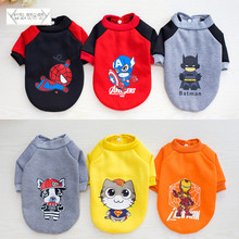 Cute, warm super heroes colorful hoodie