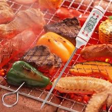 22.5cm Mini Digital Cooking Thermometer Sensor Prober Meat Thermometer Kitchen Digital Cooking Food Probe BBQ Cooking Tools
