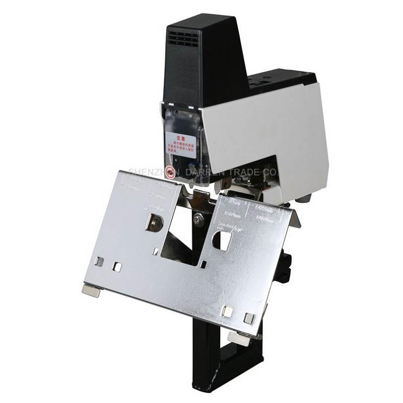 חשמלי מהדק קלסר מכונת ספר מהיר מהדק מכונה 2-50 גיליונות עם דוושת 100 MM 220 V