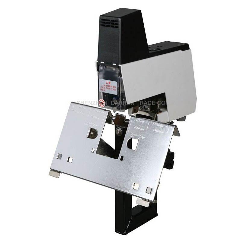 Máquina de engrapadora eléctrica libro máquina de grapadora rápida 2-50 hojas con pedal 100 MM 220 V