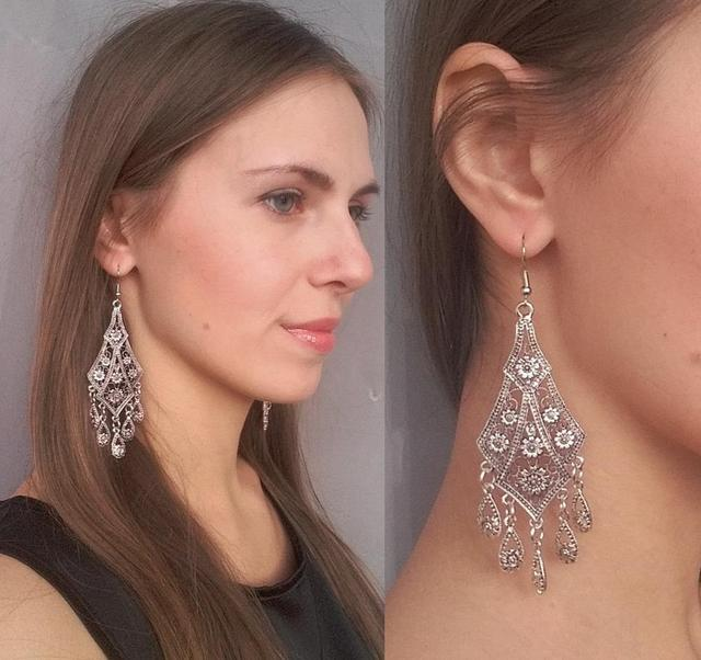 Bohemian Vintage Drop Earrings 2