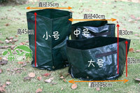 Round planting bags Multipurpose PE bags green vegetables planted pots