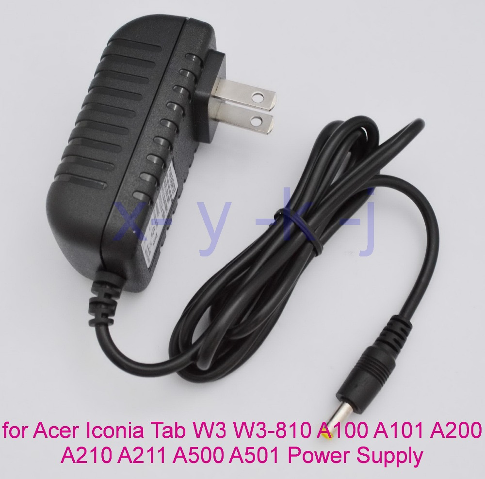 1pcs 12v 1 5a tablet charger for acer iconia tab w3 w3 810