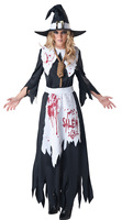 Sexy Black Ghost Costume Bride Ladies Halloween Scary Costumes For Women Zombie Corpse Cosplay Adult Fancy