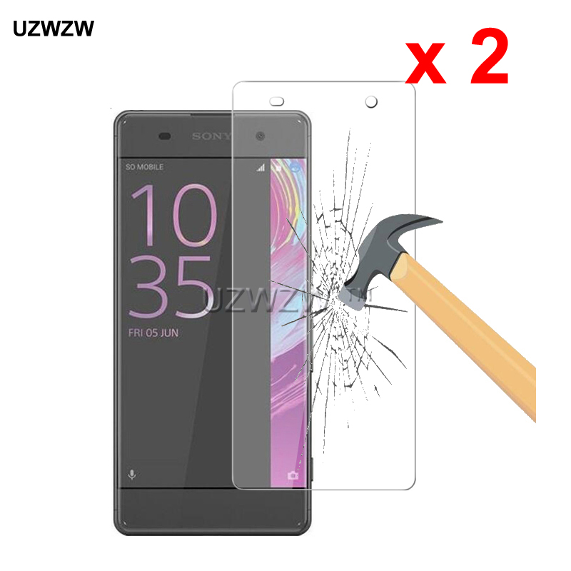 2pcs For Sony Xperia XA 2.5D Premium Tempered Glass Protective Glass Film Screen Protector For Sony Xperia XA Glass