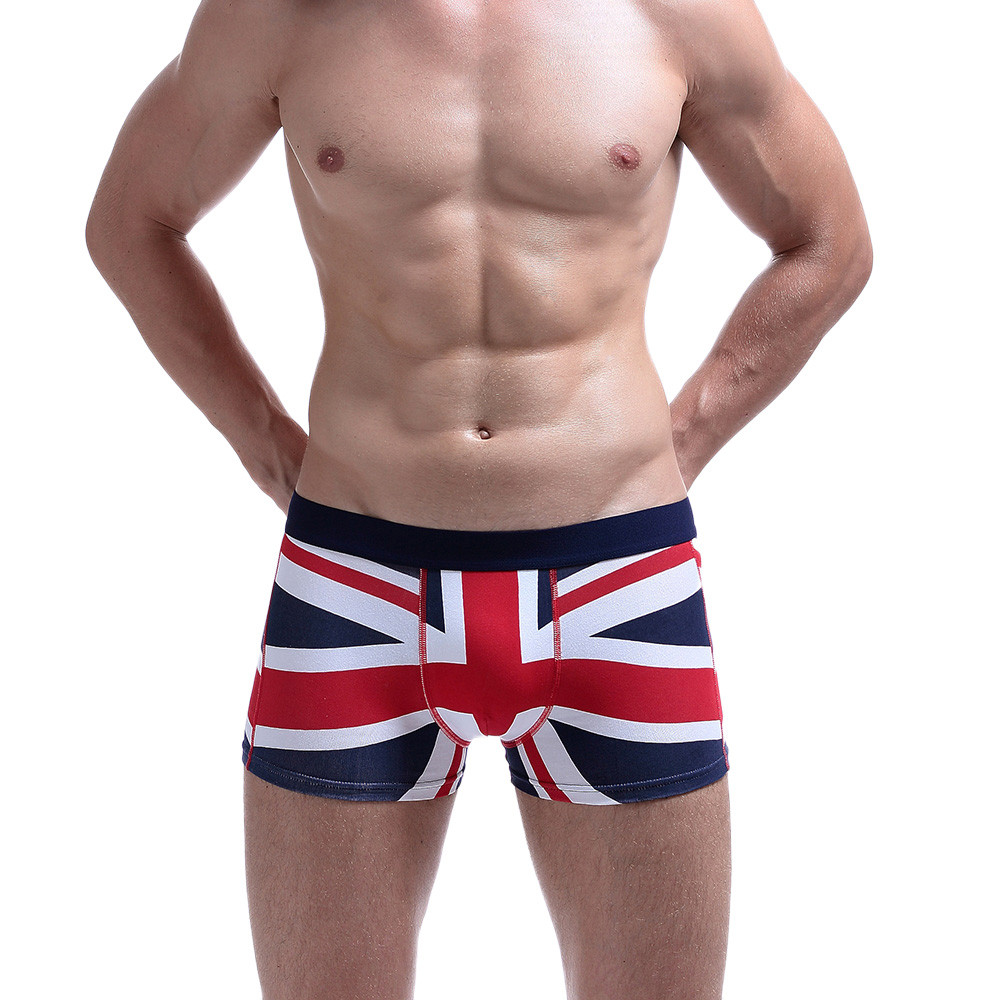 69470cf5b27e Detail Feedback Questions about New Men's Brand Sexy UK Flag Cotton Soft  Breathable Pouch Boxer Underpants Underwear Drop Shipping on Aliexpress.com  ...
