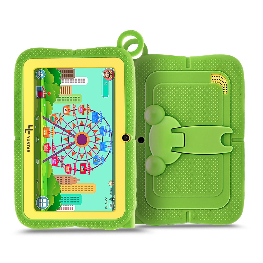 YUNTAB 7inch Q88R touch screen kids tablet PC parental control software and support iWawa 3D game