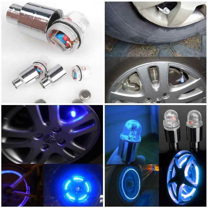 2 шт./компл. велосипед светодиодный WheelLight неоновые колеса говорил Велоспорт свет LMove сенсорный клапан Кепки сигнальные огни YS-BUY
